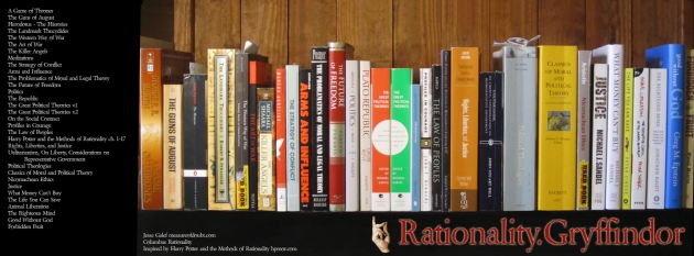 Rationality Gryffindor Library